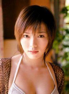 整形前のとてもかわいい釈由美子さん