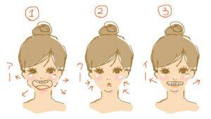 オトガイ筋と頬筋を鍛える方法