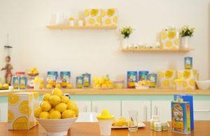 生レモンでレモン水を作る