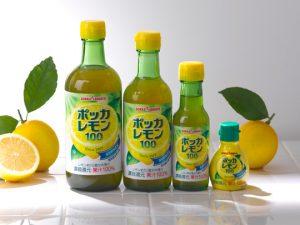 ポッカレモンは果汁100%